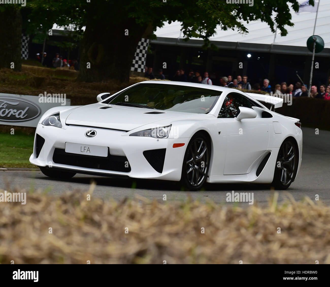 Lexus LFA, Goodwood Festival of Speed, 2016. automobiles, cars, entertainment, Festival of Speed, FoS, Full Throttle, - Stock Image