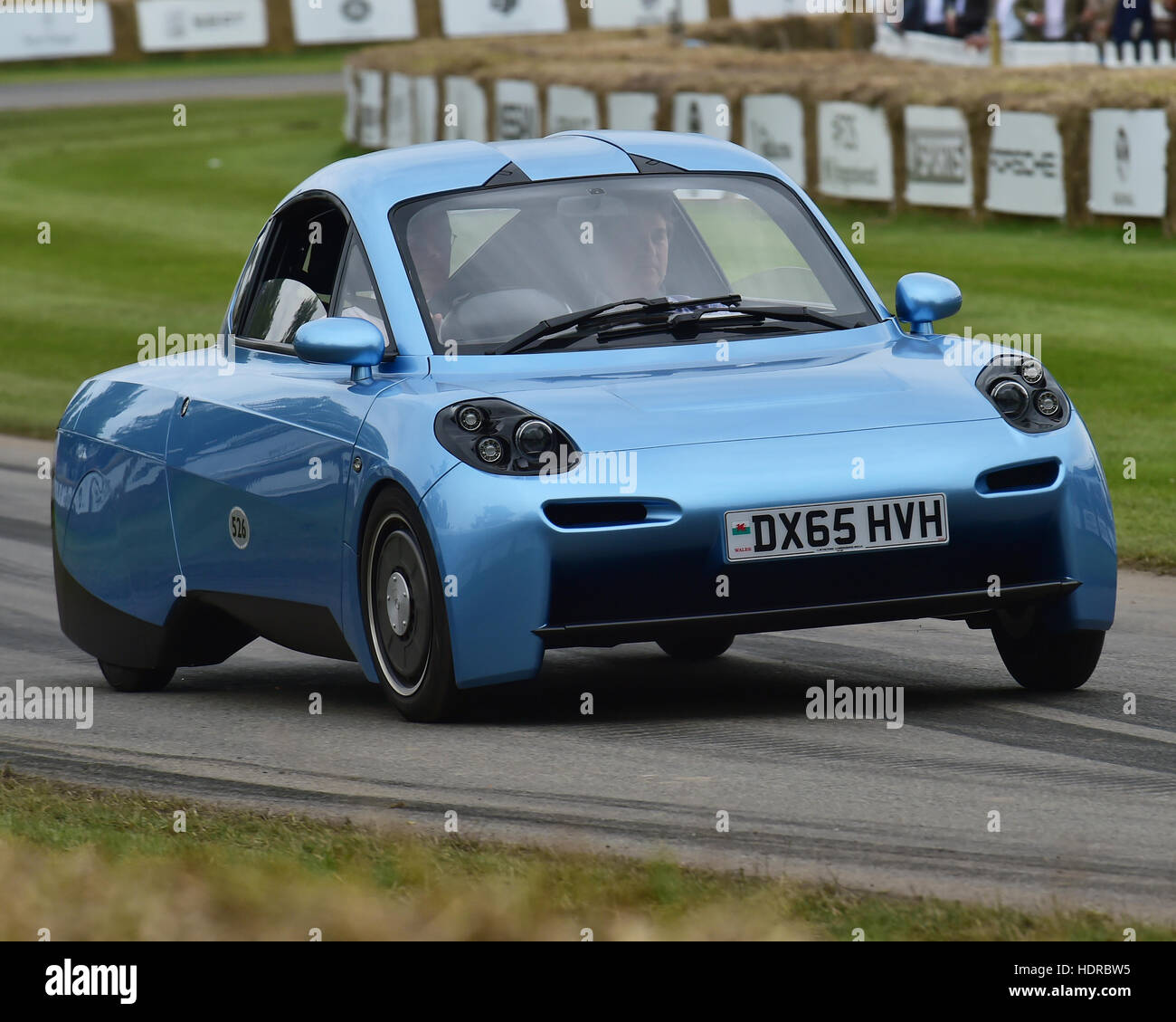 Riversimple Rasa, Goodwood Festival of Speed, 2016. automobiles, cars, entertainment, Festival of Speed, FoS, Full - Stock Image