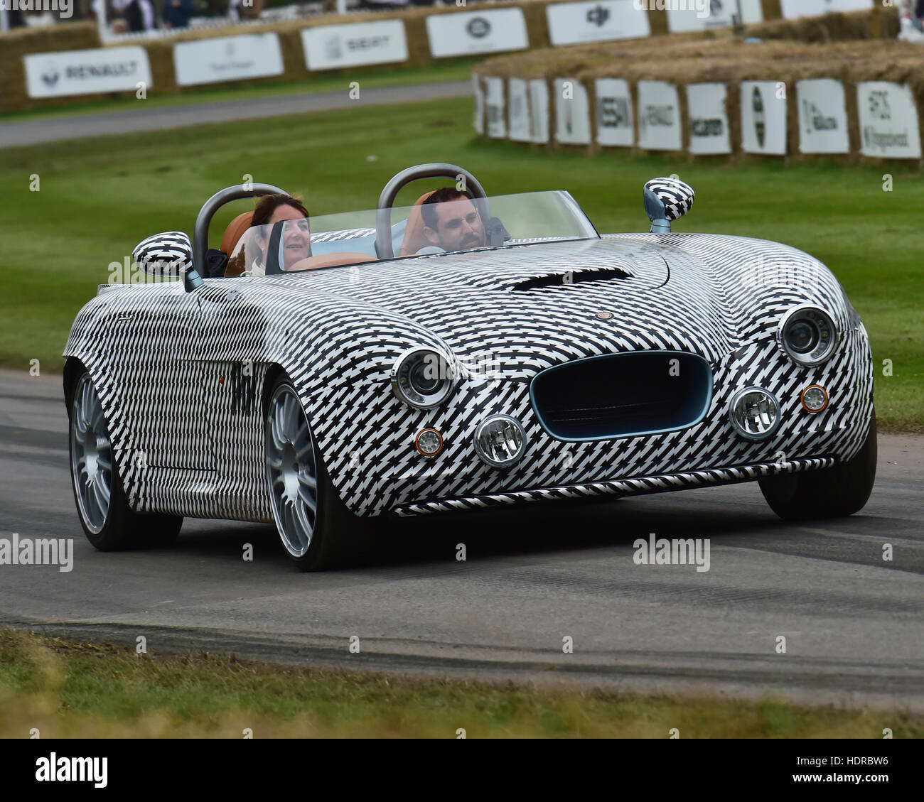 Bristol V8, Goodwood Festival of Speed, 2016. automobiles, cars, entertainment, Festival of Speed, FoS, Full Throttle, - Stock Image