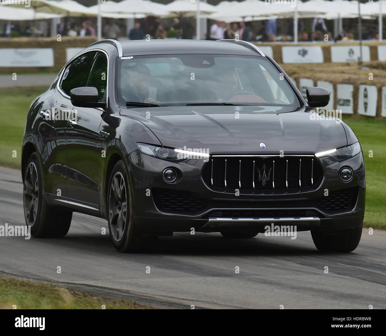 Maserati Levante, Goodwood Festival of Speed, 2016. automobiles, cars, entertainment, Festival of Speed, FoS, Full - Stock Image