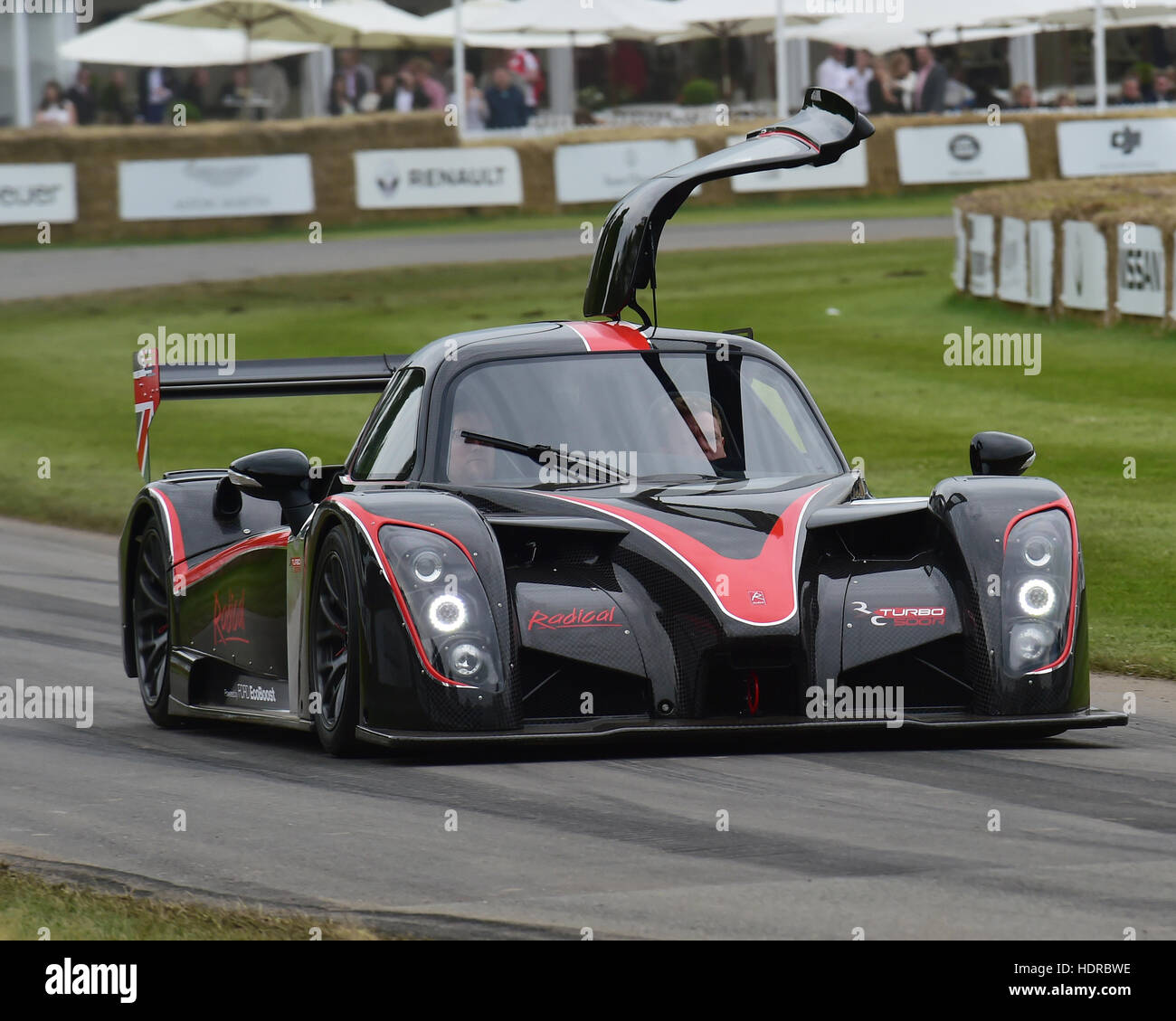 Radical RXC Turbo, Goodwood Festival of Speed, 2016. automobiles, cars, entertainment, Festival of Speed, FoS, Full - Stock Image