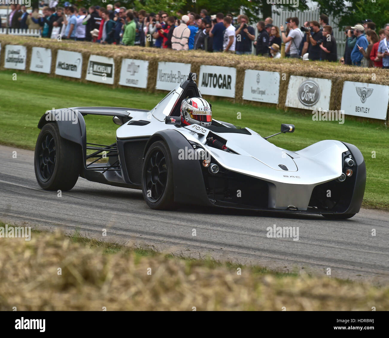 BAC Mono, Goodwood Festival of Speed, 2016. automobiles, cars, entertainment, Festival of Speed, FoS, Full Throttle, - Stock Image