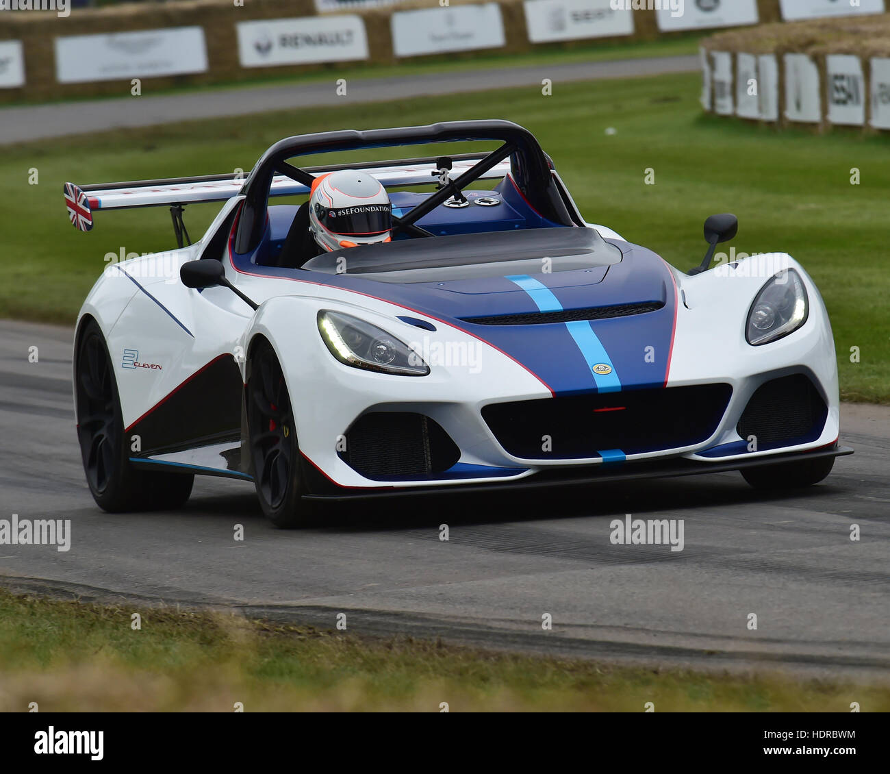 Lotus 3-11, Goodwood Festival of Speed, 2016. automobiles, cars, entertainment, Festival of Speed, FoS, Full Throttle, - Stock Image