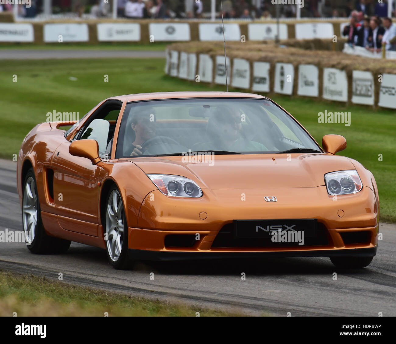 Honda NSX, 2005, Goodwood Festival of Speed, 2016. automobiles, cars, entertainment, Festival of Speed, FoS, Full - Stock Image