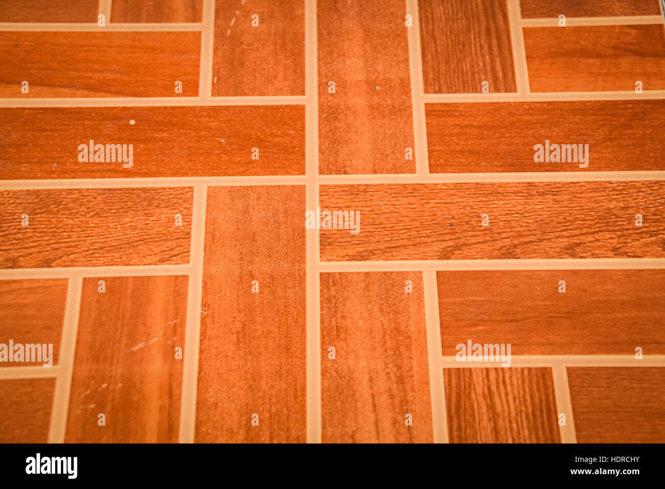 Teracotta rectangular tiles - Stock Image
