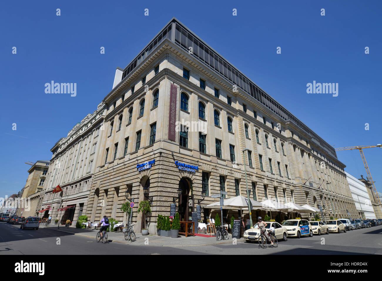 Restaurant Gendarmerie, Behrenstrasse, Mitte, Berlin, Deutschland - Stock Image