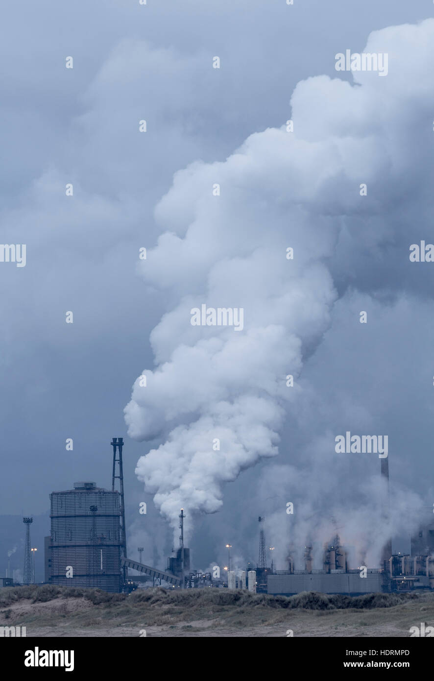 Blast Furnace Steam Steelworks Stock Photos & Blast Furnace Steam ...
