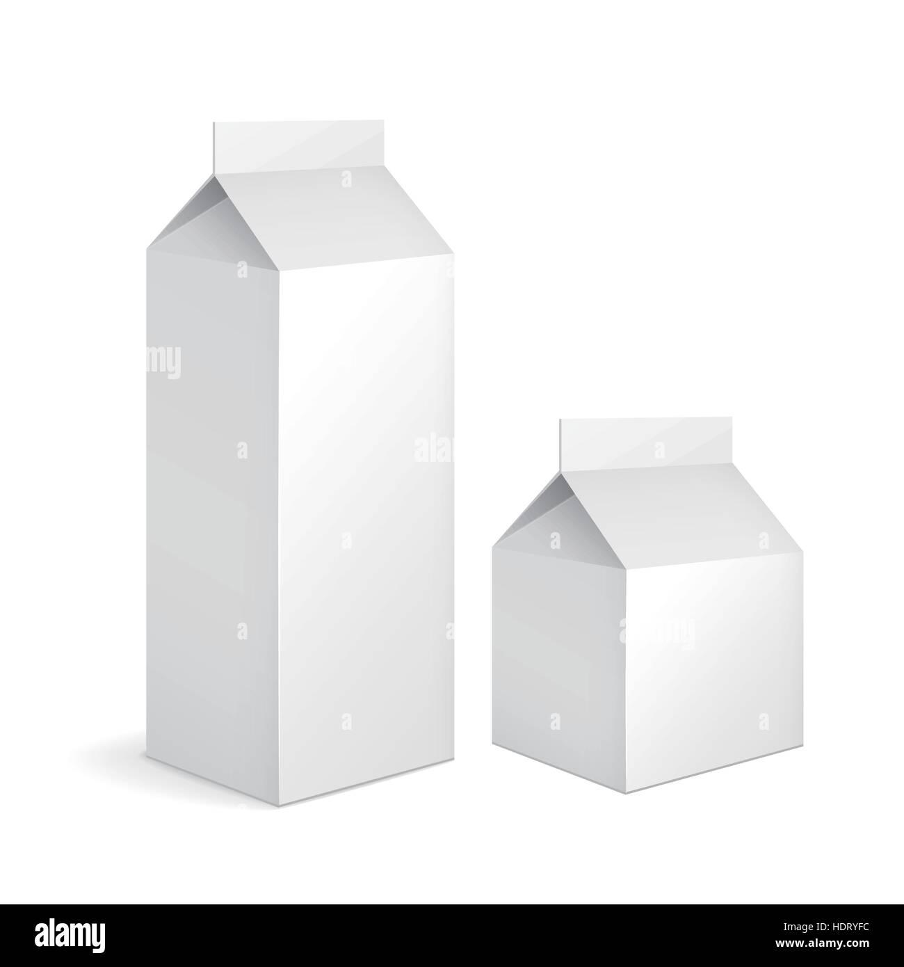 Milk Carton Stock Vector Images - Alamy