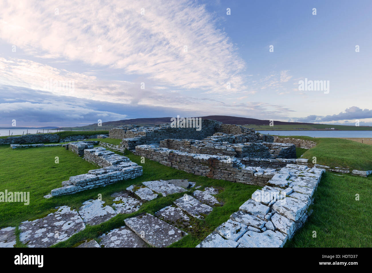 Cubbie's Roos Castle, Wyre, Orkney Isles - Stock Image
