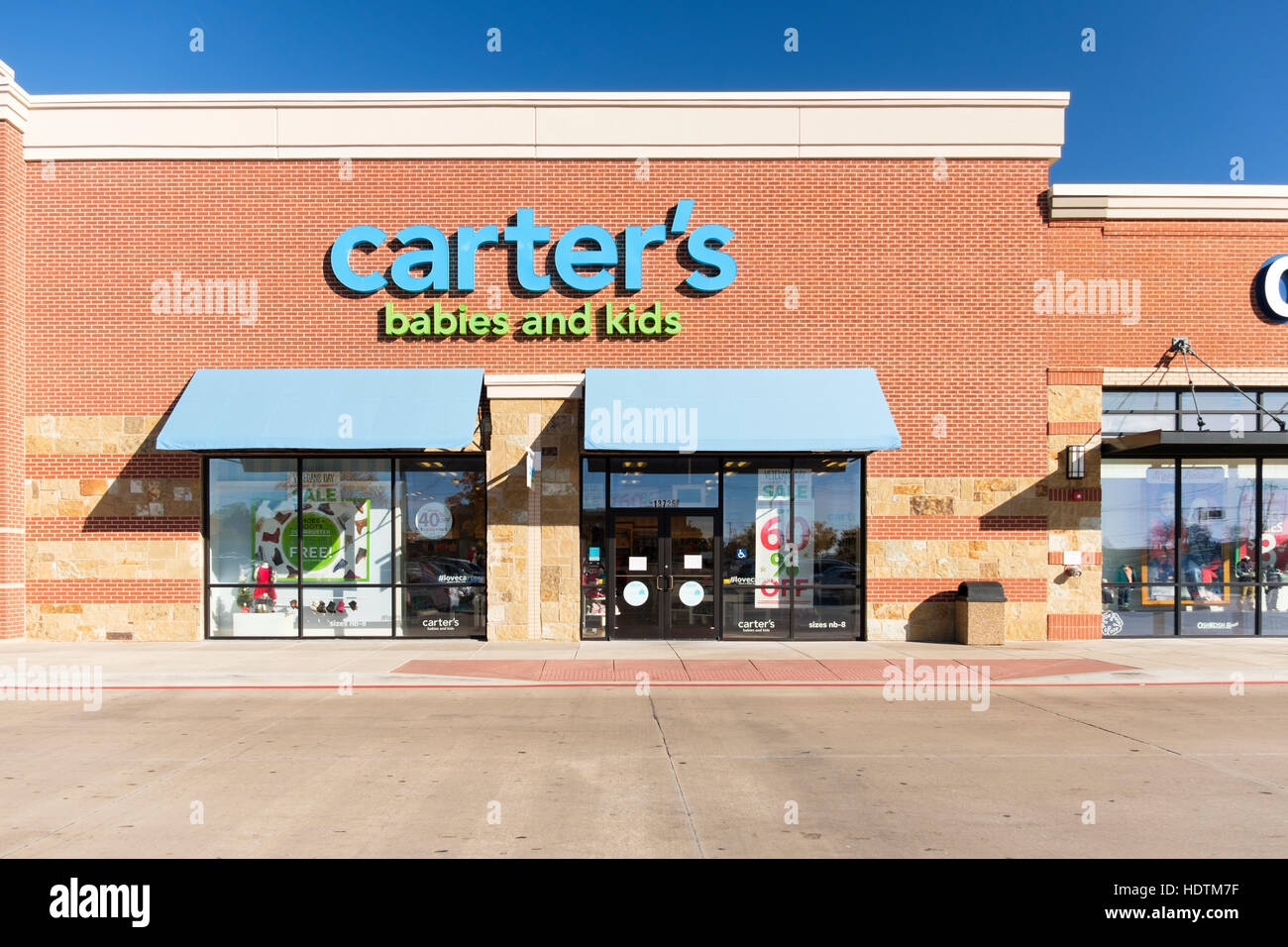Exterior Storefront And Entrance Of Carter S Babies And Kids