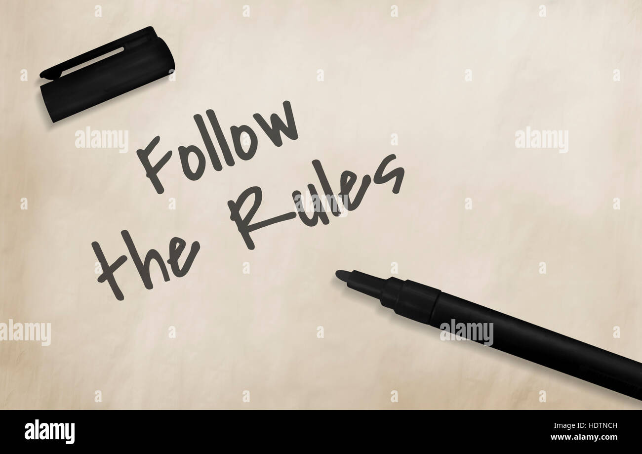 why should we follow rules and regulations