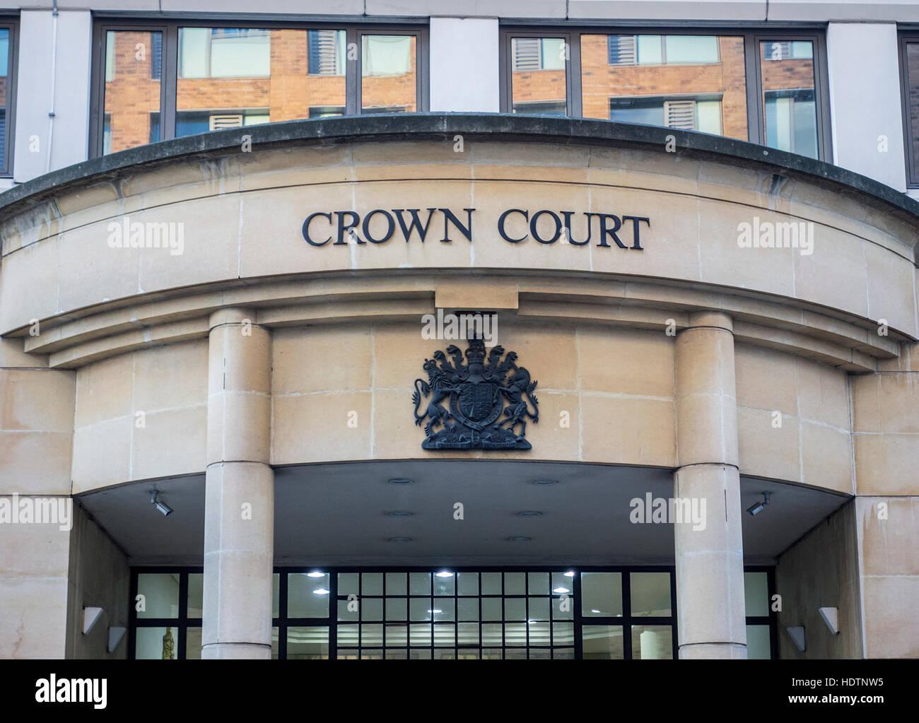 Blackfriars Crown Court, London, UK - Stock Image