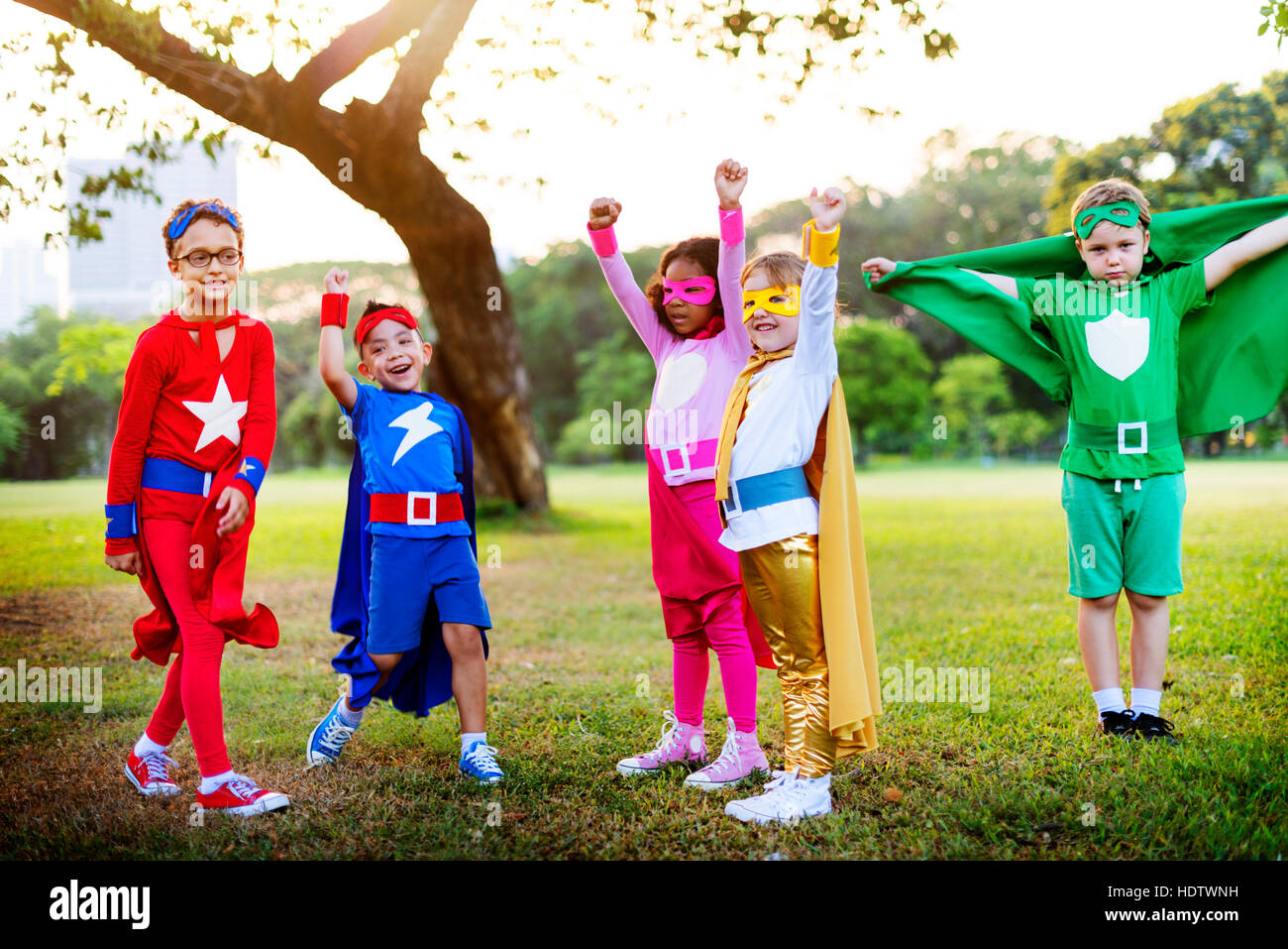 Super Kids Play Ground Concept Stock Photo: 129010157 - Alamy
