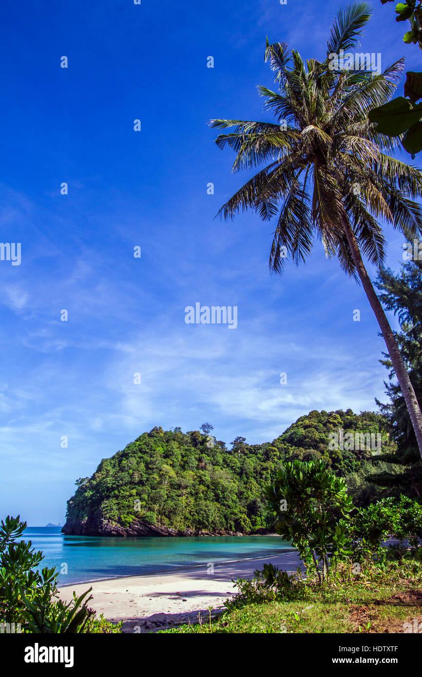 Tarutao national park landscape, Thailand - Stock Image