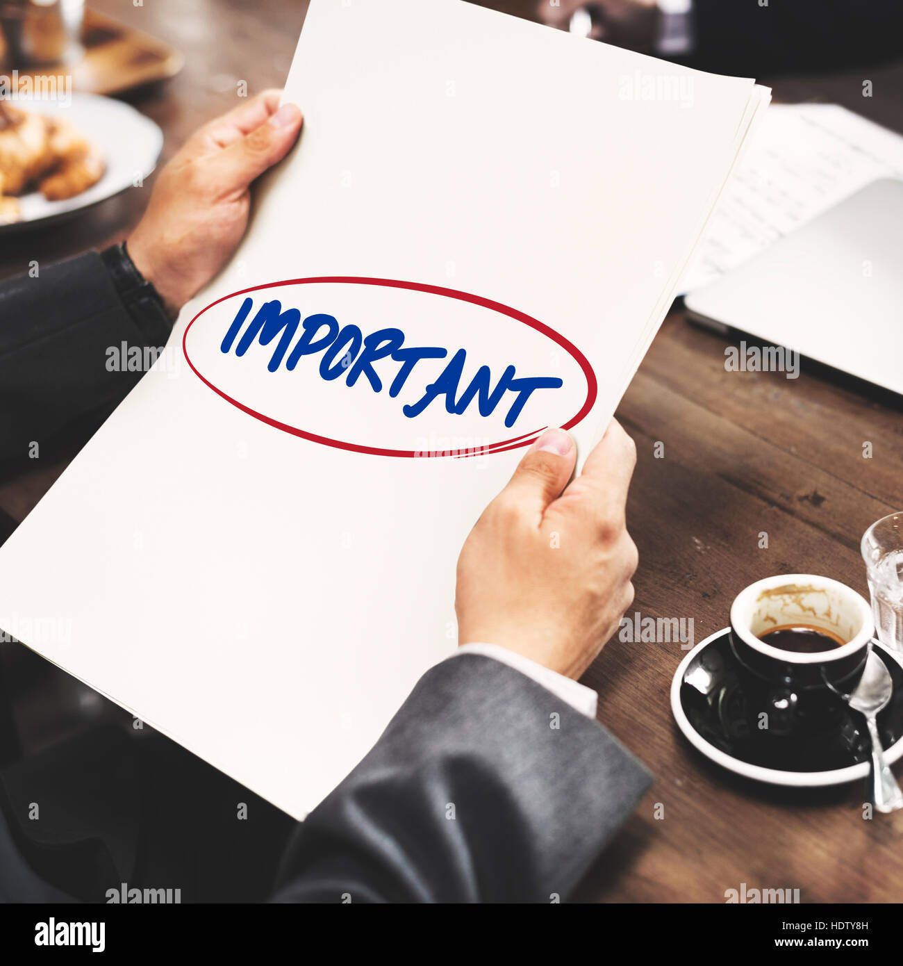 Important Prioritize Urgent Focus Issues Work Concept - Stock Image