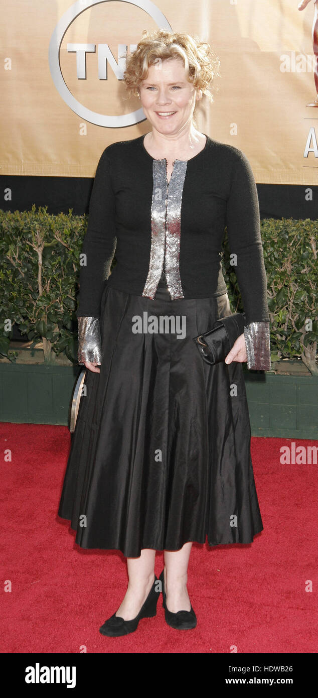 Imelda Staunton at the Screen Actors Guild Awards  in Los Angeles on Feb. 5, 2005 Photo credit: Francis Specker - Stock Image