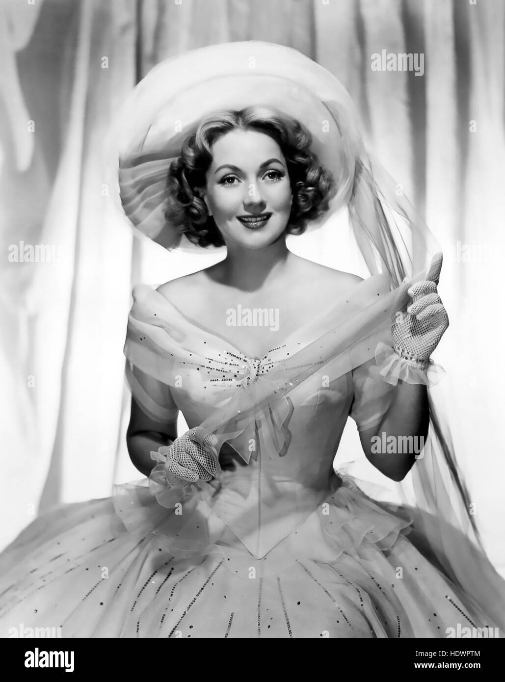 ANN SOUTHERN (1909-2001) US film and stage actress - Stock Image