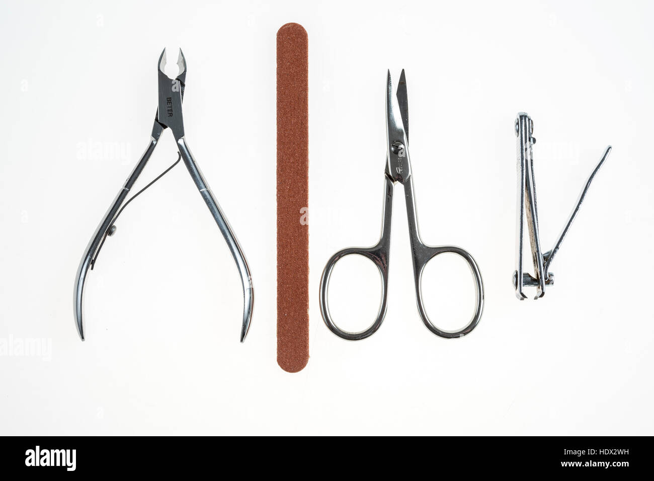 Nail Care Tools Clippers Scissors Nippers Files