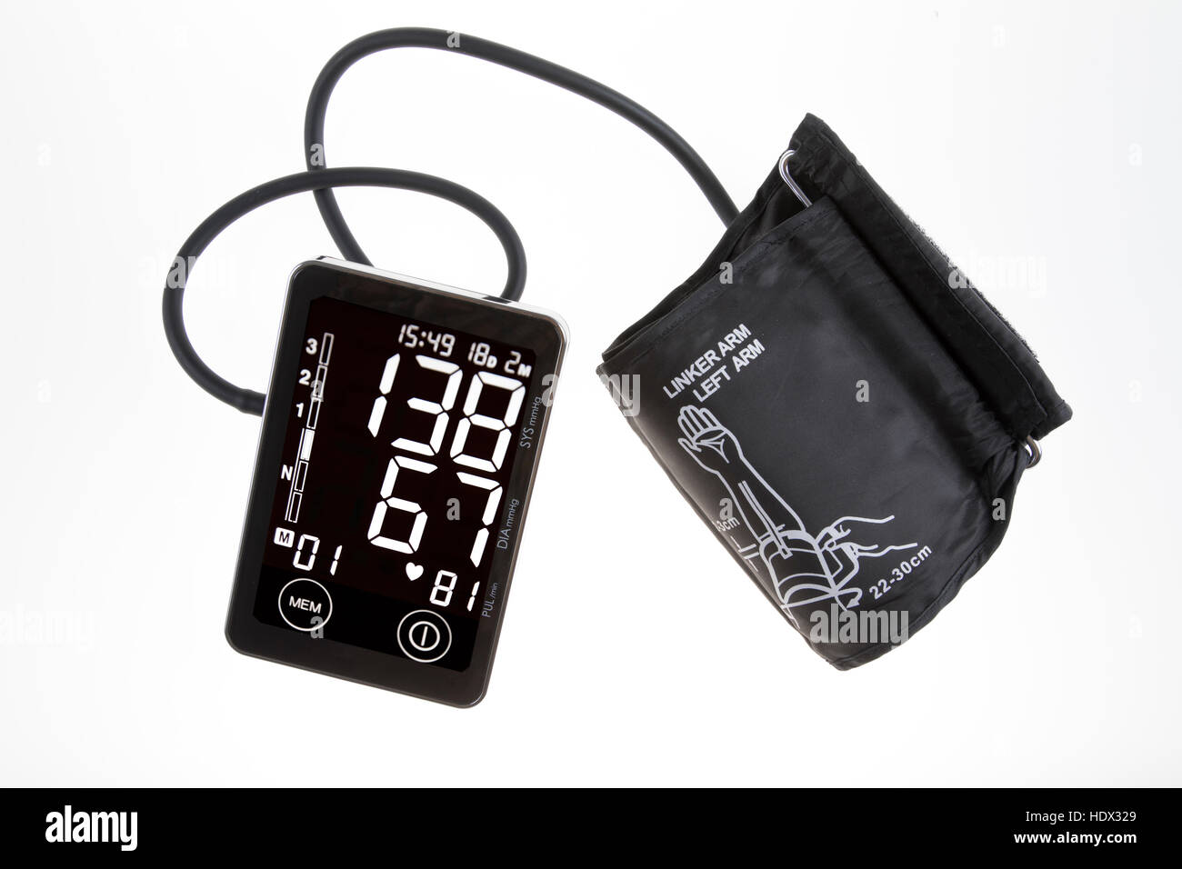 Arm With Sphygmomanometer Stock Photos & Arm With Sphygmomanometer ...