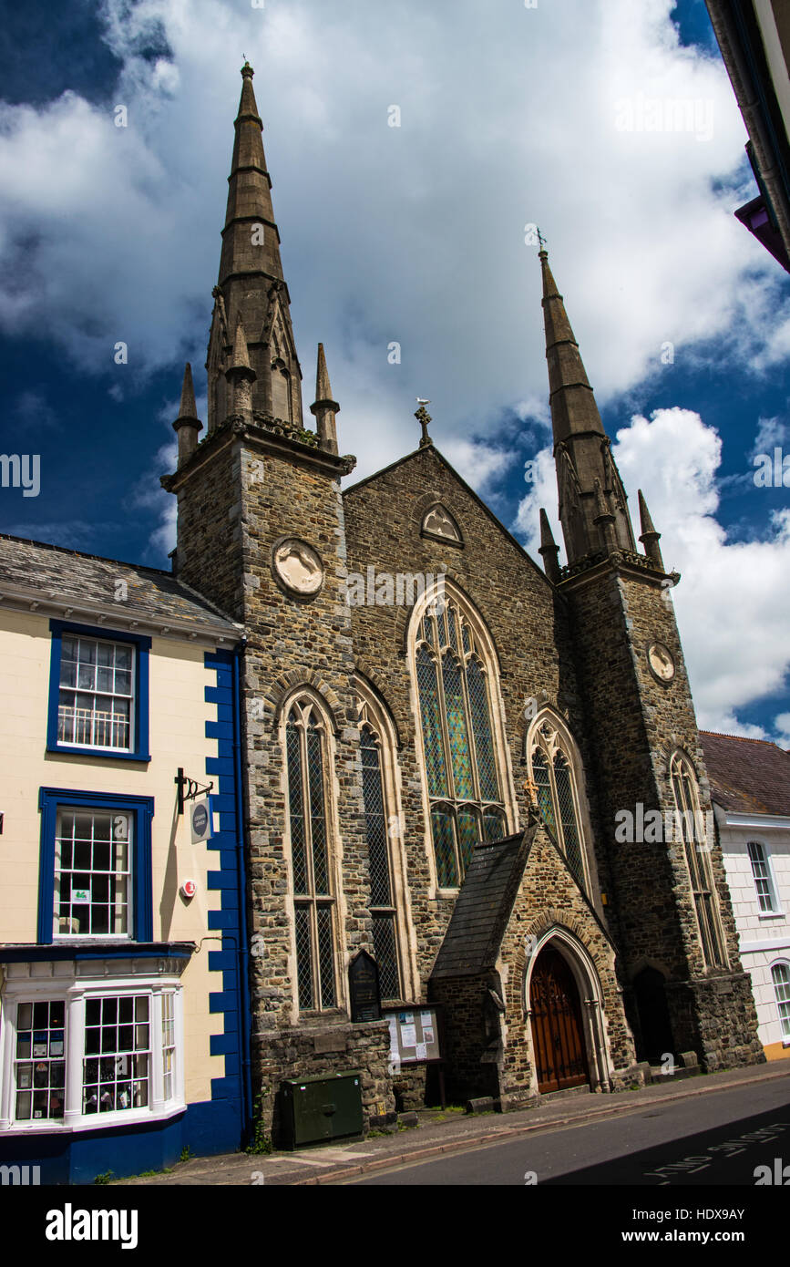 Lavington United Reformed Church. - Stock Image