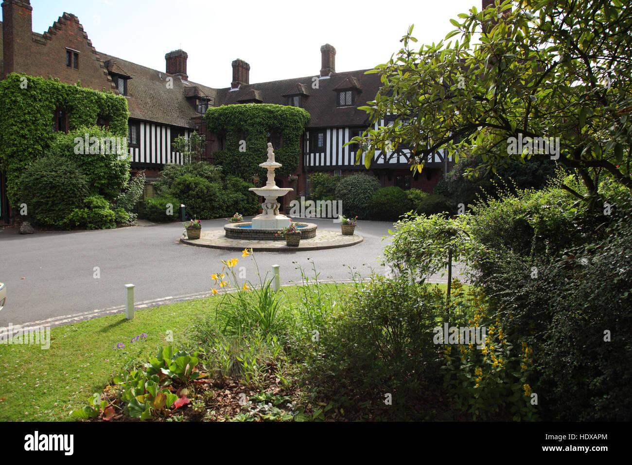 Hogarths Stone Manor Hotel, Kidderminster, Worcestershire - Stock Image