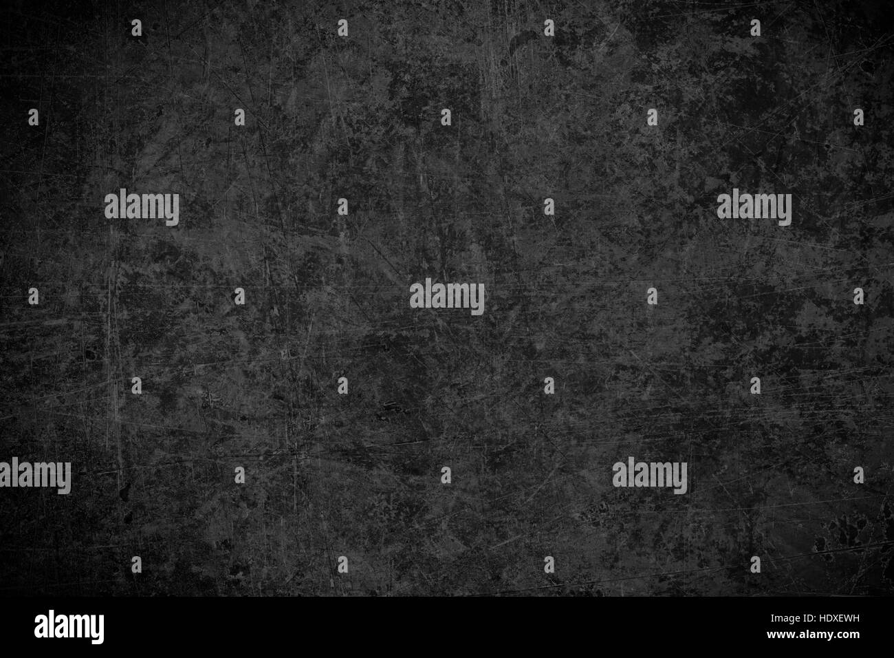 black steel plate texture or old rust scratched metal abstract background - Stock Image
