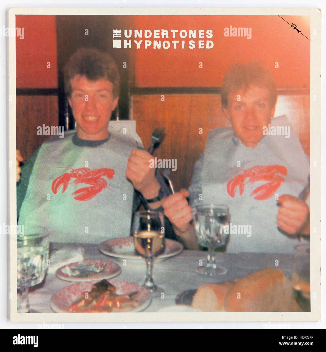 The cover of 'Hypnotised', 1980 album by The Undertones reissue on Fame Stock Photo