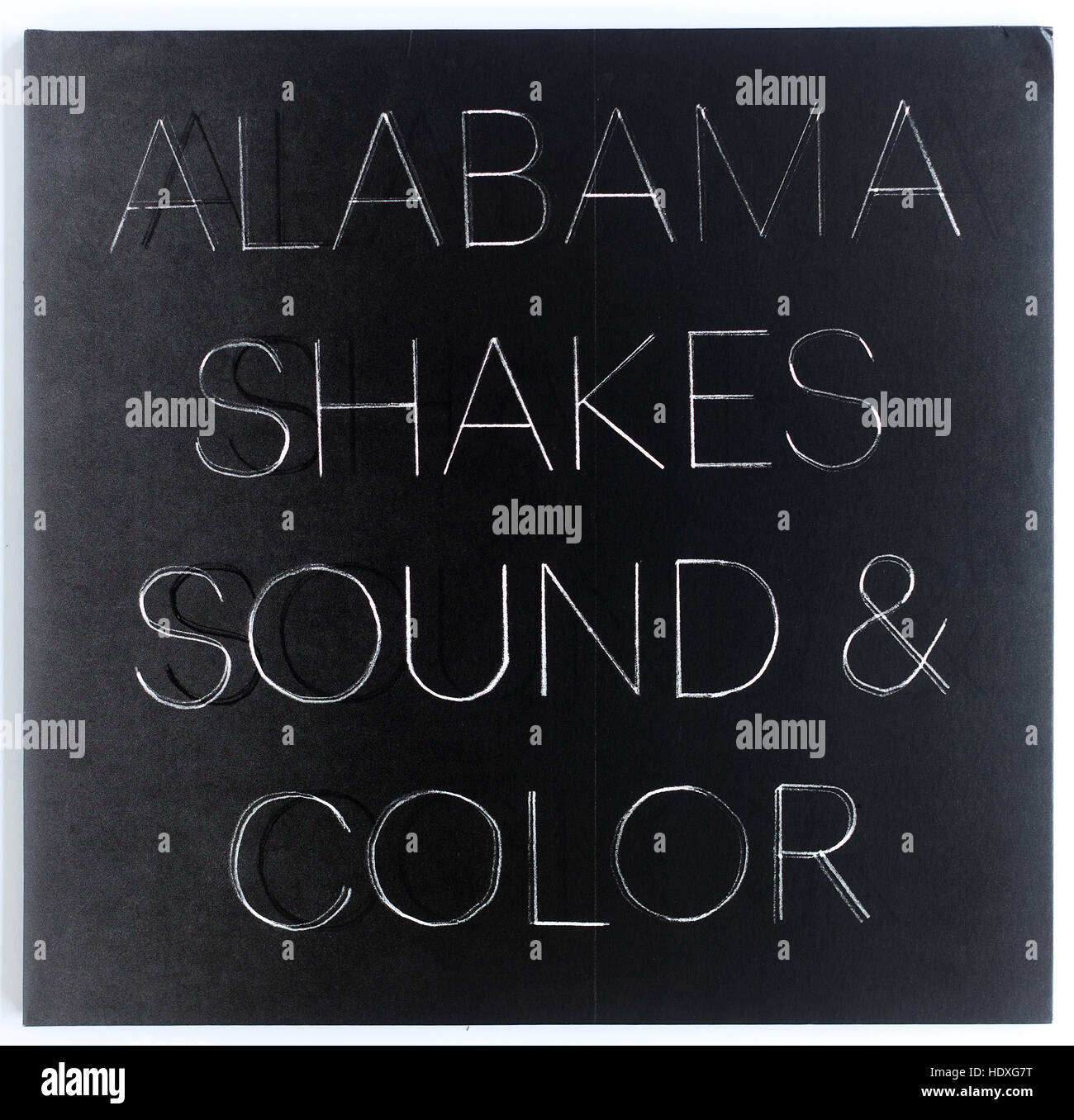 The cover of 'Sound And Color', 2015 album by Alabama Shakes Stock Photo