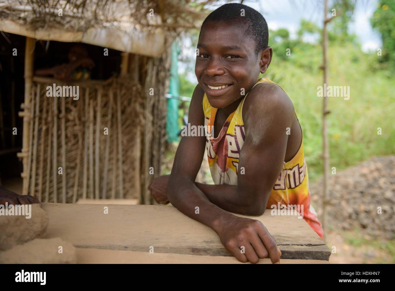Portraits, Nigeria - Stock Image