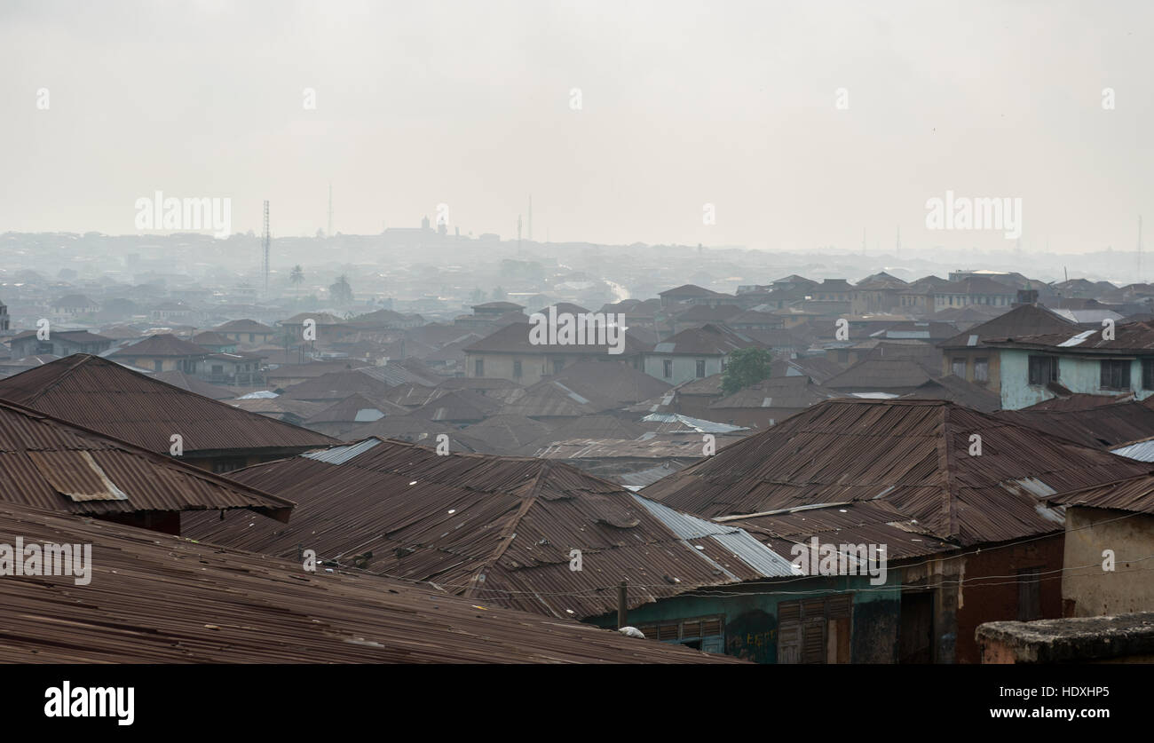 Ibadan views, Nigeria - Stock Image