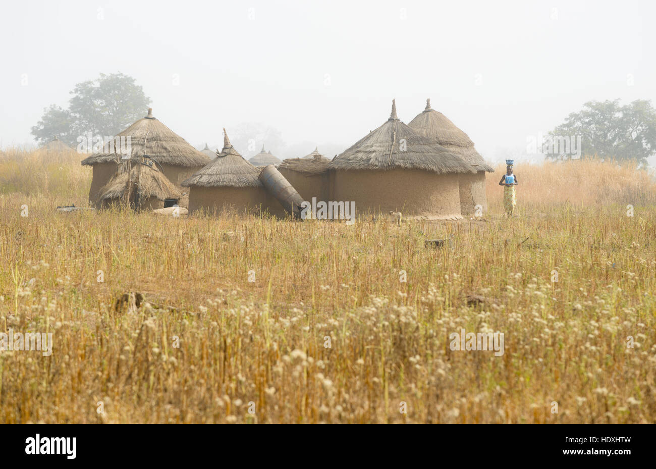 Villages of northern Togo Stock Photo