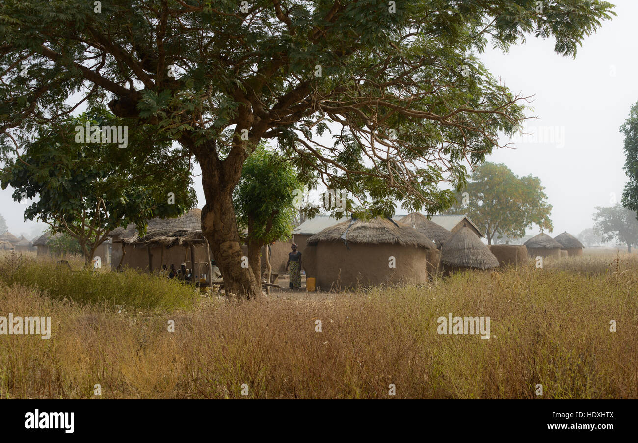 Villages of northern Togo - Stock Image