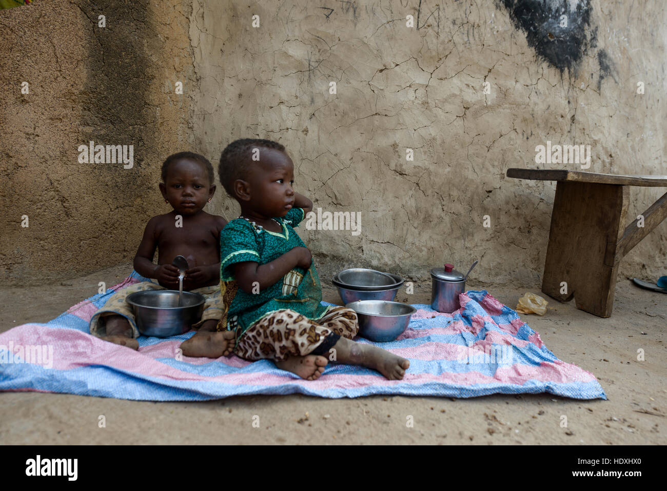 People of northern Togo, - Stock Image