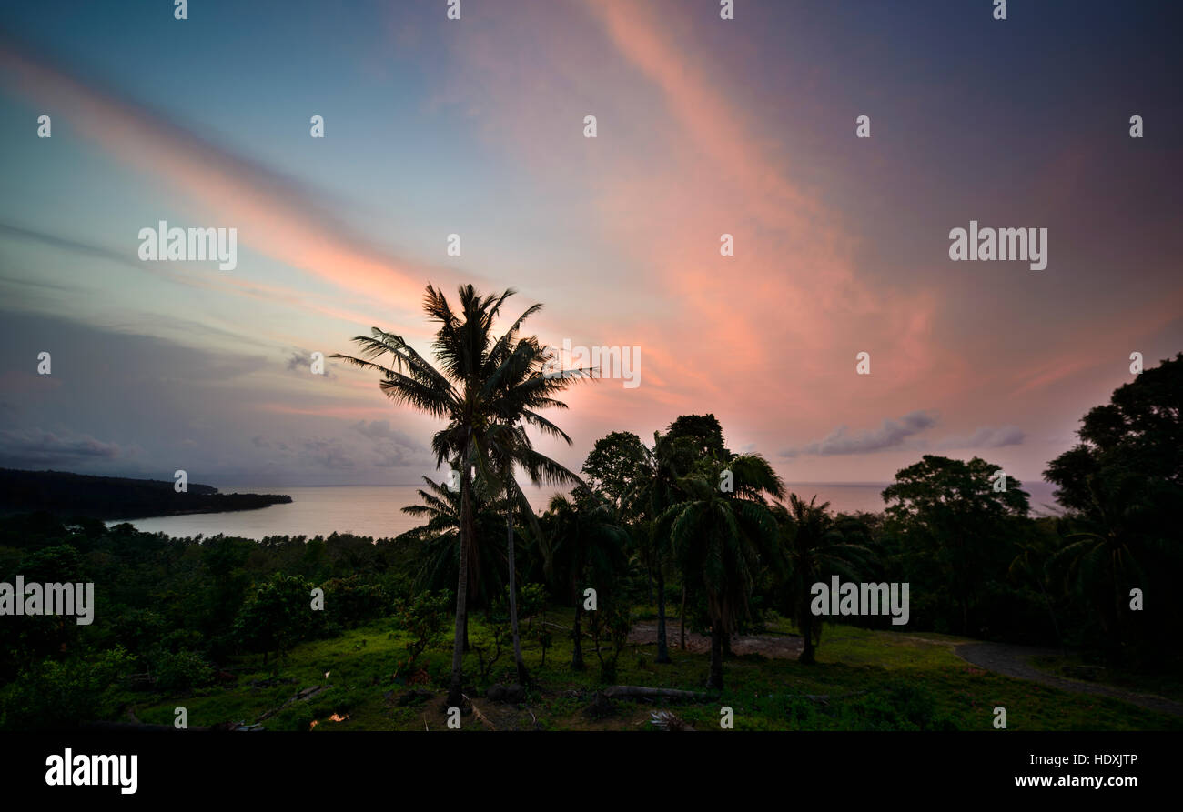 Neves, São Tomé e Príncipe Stock Photo