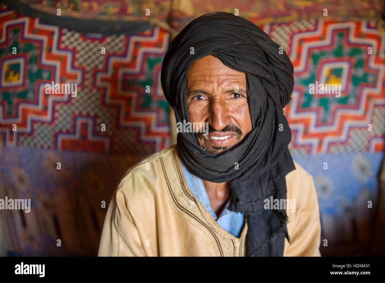 People of the Sahara, Mauritania - Stock Image
