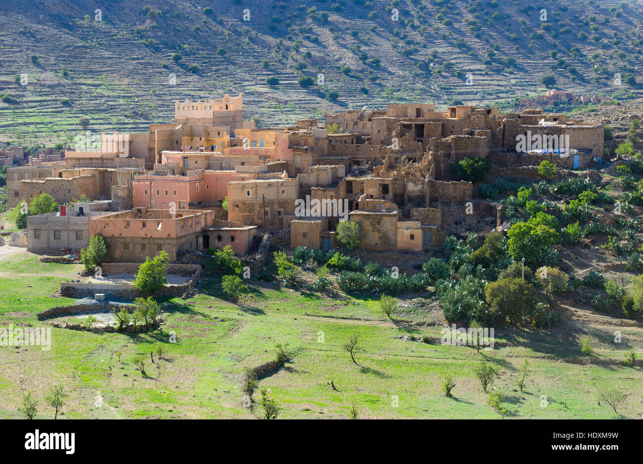 Villages of the Anti-Atlas, Morocco - Stock Image