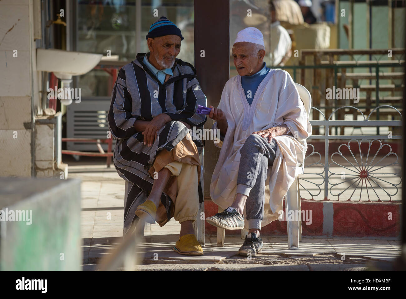 Moroccan men, Morocco - Stock Image