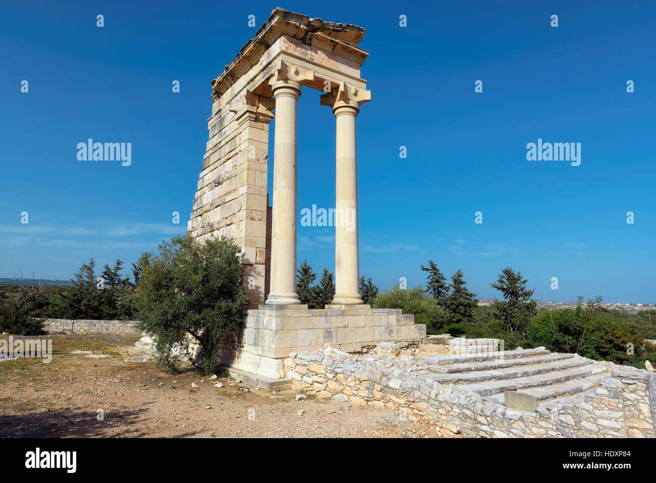 The Sanctuary of Apollo Hylates, Limassol, Cyprus - Stock Image