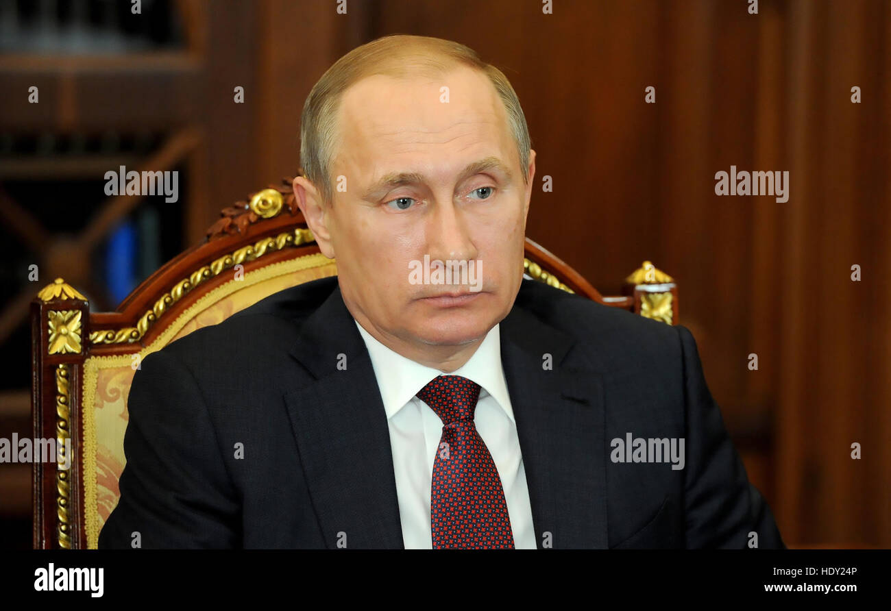 VLADIMIR PUTIN President of the Russian Federation in 2016. Photo: www.kremlin.ru - Stock Image