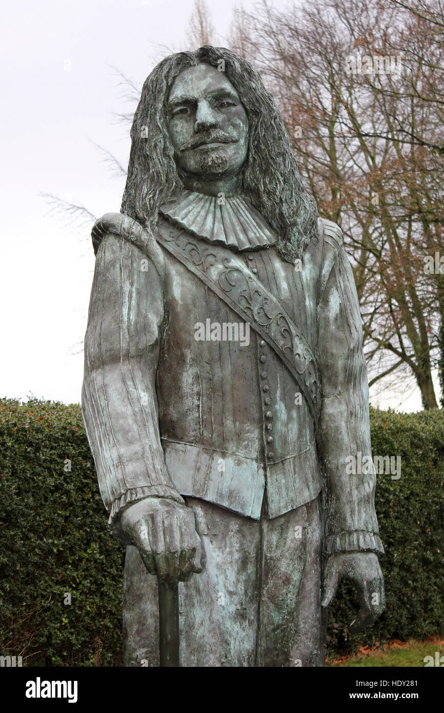 Sculpture Of The Childe Of Hale - John Middleton - Stock Image