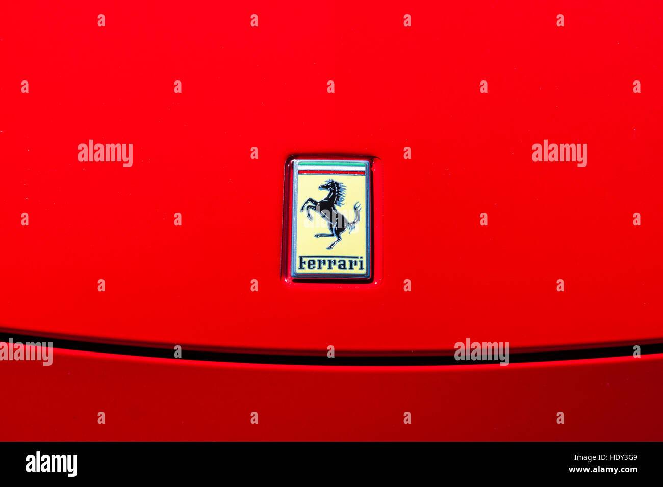 Ferrari Emblem Stock Photos Ferrari Emblem Stock Images Alamy