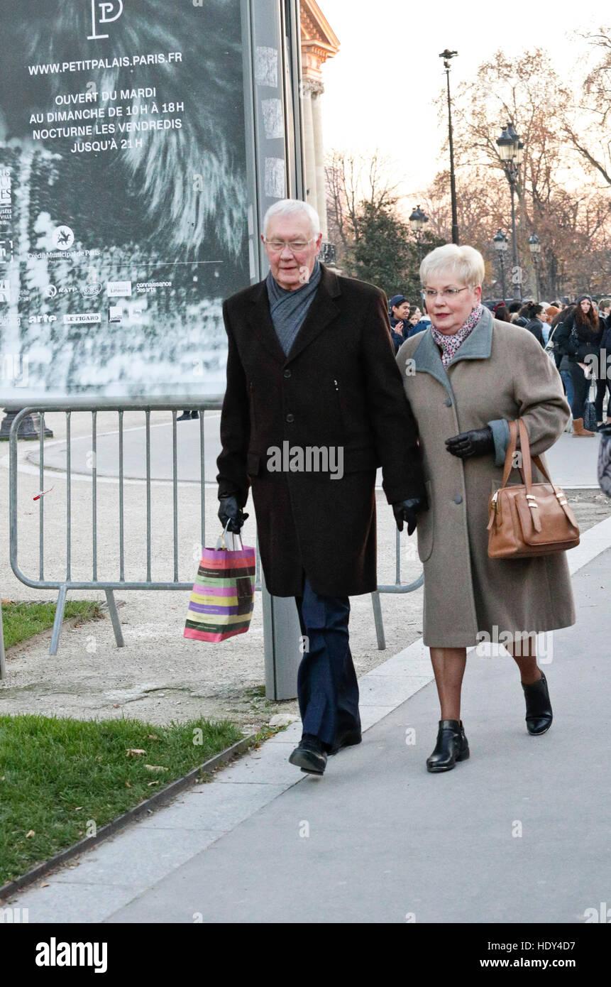 Elderly couple - Stock Image