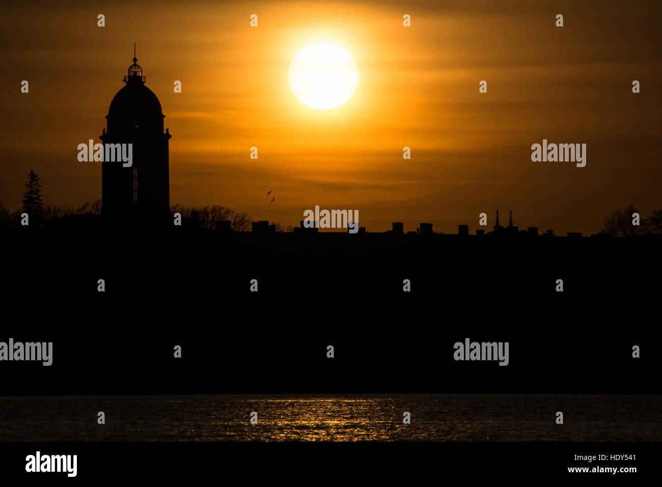 WORLD HERITAGE SITE SUOMENLINNA - Stock Image