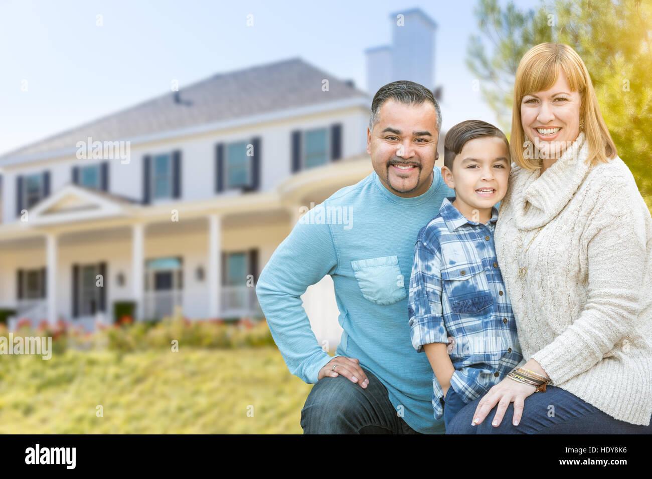 hispanic family outside home stock photos amp hispanic