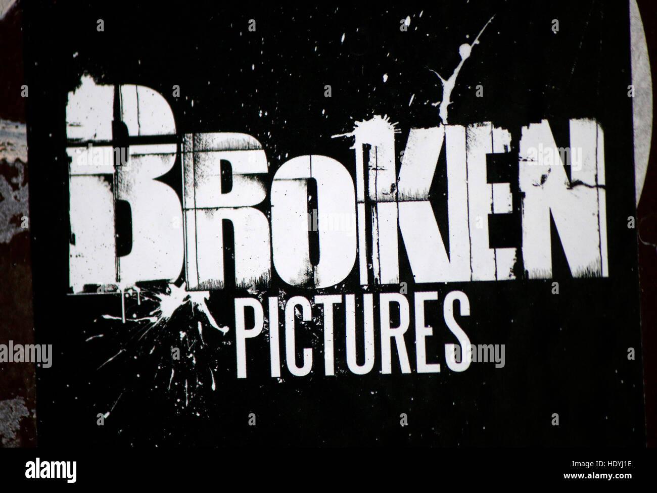Broken logo stock photos broken logo stock images alamy das logo der marke broken pictures berlin thecheapjerseys Gallery