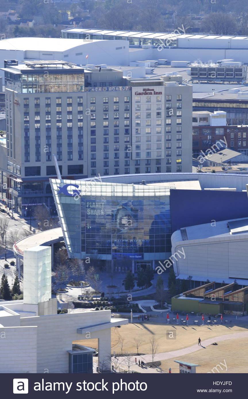 Downtown Atlanta Georgia - Stock Image