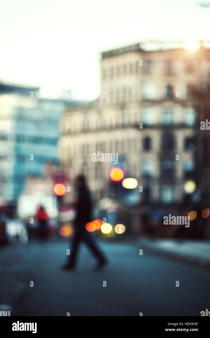 city landscape busy - Stock Image