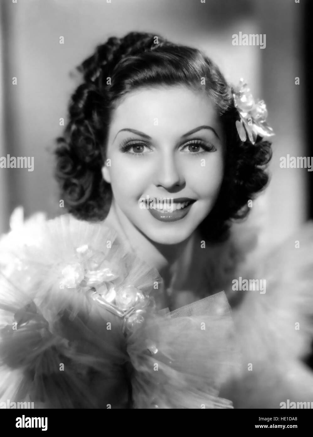 ANN MILLER (1923-2004) US dancer and film actress about 1940 - Stock Image