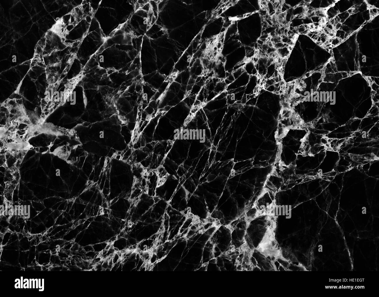 Abstract black marble background black and white tone of black