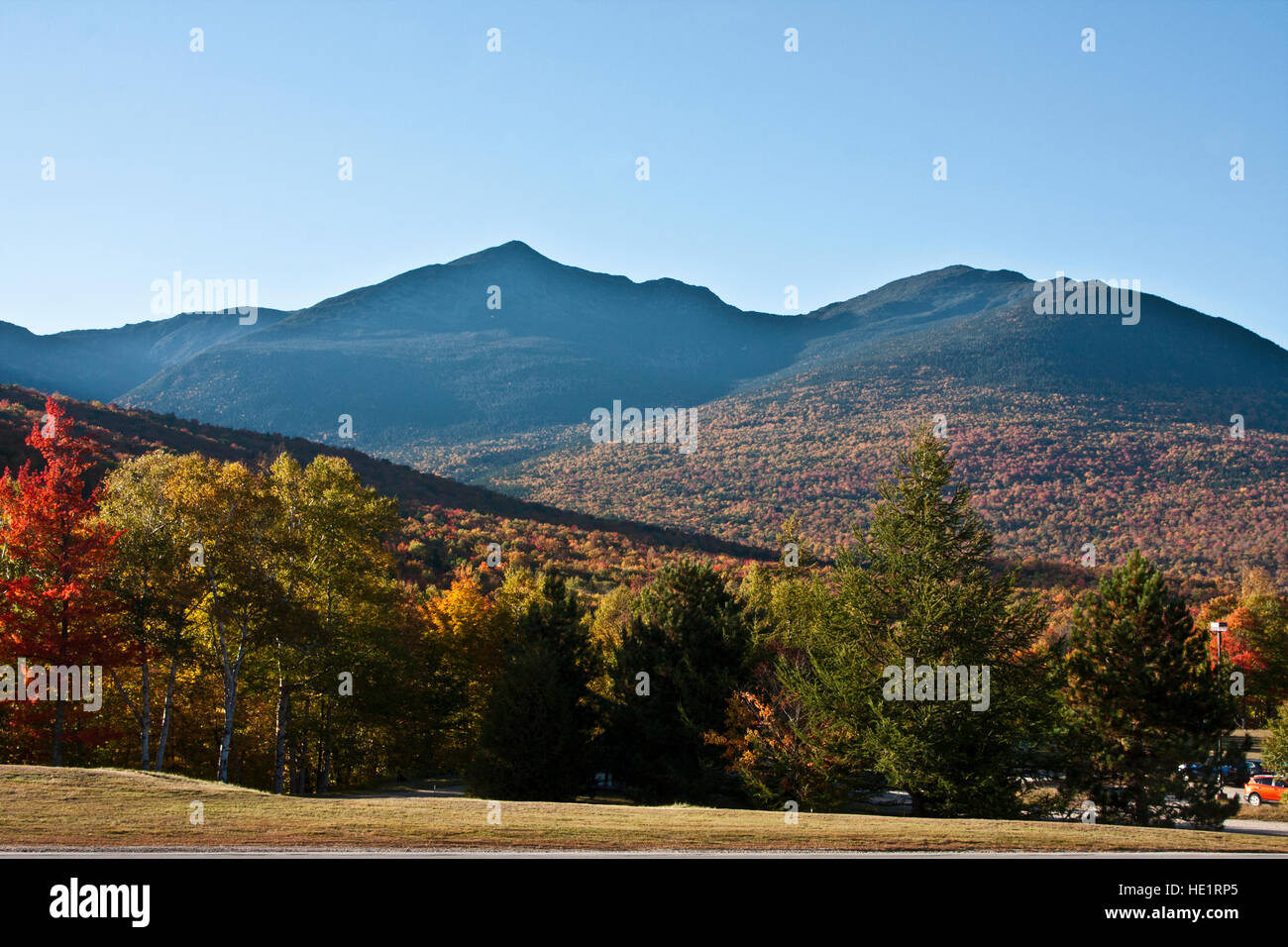 White Mountains New Hampshire the Great Glen Outdoor Center Mount